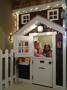 Decorating for Kids -- Under-Stair Playhouse