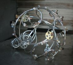steampunk bouquets   Industrial Revelations: Steampunk Wedding Bouquet-show & tell