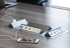 Discount Office Furniture - Dual-Sided Conference Table Power Data ...