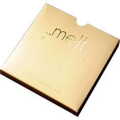 'Gold Bar' from the Melt Chocolate Boutique in Notting Hill. Infused with real 22 carat gold £8.50