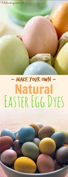Natural Easter Egg Dye will give the Easter bunny a run for his money. Learn how to use common foods and flowers with this guide for making natural dyes. Spring Recipes, Easter Recipes, Holiday Recipes, Easter Ideas, Holiday Ideas, Holiday Foods, Easter Decor, Sweets Recipes, Easter Crafts