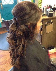 Wedding Hairstyles for Heavy Long Hair