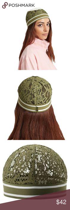I just added this listing on Poshmark: Puma Fenty Olive Branch Lace Skull Cap. #shopmycloset #poshmark #fashion #shopping #style #forsale #Puma by Fenty #Accessories