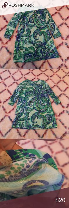 Lilly Pulitzer dress Perfect condition one!!! Long sleeves Lilly dress! Only wear once! Lilly Pulitzer Dresses Casual