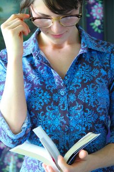 Amy Butler's Soul Blossom Fabrics with The Liverpool Tunic (sewing pattern)