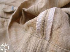 Homespun Trousers Vintage Books, Vintage Items, Weaving Textiles, Indigo Dye, Vintage Outfits, Trousers, Reusable Tote Bags, Clothes, Fashion