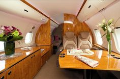 Private Jet Charter or Private Plane Bella Donna Private Plane, Private Jets, Private Jet Interior, Private Flights, Contemporary Cabin, Luxury Jets, Air Charter, I Want To Travel, Flight Attendant
