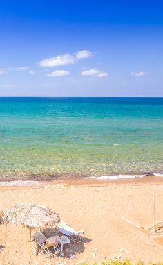 Scalleta seaside village in Rethymnon, Crete