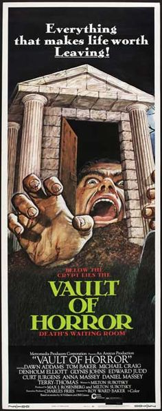 The Vault of Horror (1973) another anthology favourite.