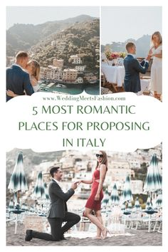 Top 5 Most Romantic Places For A Marriage Proposal In Italy Cities In Italy, Places In Italy, Positano Beach, Christmas Proposal, Romantic Proposal, Most Romantic Places, Trevi Fountain, Successful Marriage, Perfect Marriage