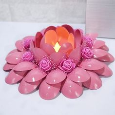 Cottage Crafts Plastic Spoons Recycling Ideas Beautiful Candles Origami Candle Holders Projects To Try Parties Decorations Candlesticks Plastic Spoon Crafts, Plastic Spoons, Plastic Bags, Diwali Diy, Diwali Craft, Diy Arts And Crafts, Crafts For Kids, Diy Diwali Decorations, Beautiful Candles