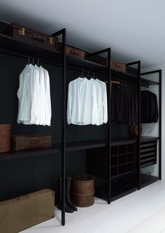 Paint the back white, and additional light, would make an awesome closet.