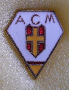 BELLISSIMO DISTINTIVO SPILLA PIN BADGE A.C. MESSINA CALCIO