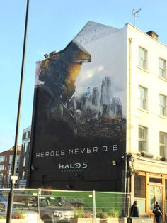 Halo 5 Street Mural in London