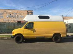 Evan's DIY Conversion Van Tiny Home 0020