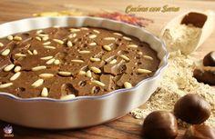 Castagnaccio, cucina con sara
