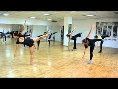 Jazz-modern warming-up - YouTube