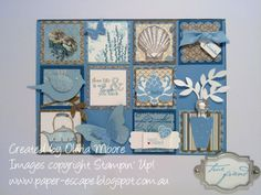 stampin up shadow box | Squares of Goodness