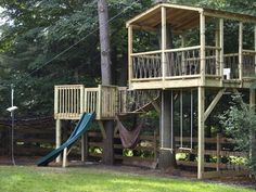 Homemade Playset Yes Please Fun With The Kids Pinterest
