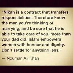 I love Nouman Ali Khan bcs of his wisdom. My hubby took me to one of his speeches last summer.