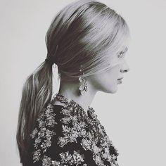 Rabo de cavalo baixo   low ponytail #hairstyle