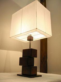 """Lampa stołowa """"kwadrat"""" w adamiego na DaWanda.com"""
