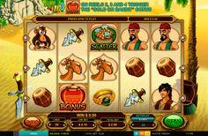 Alibaba kolikkopeli on varmasti valtava peli verkossa! Tämä on erittäin hyvää peli joka kaikki pelajat varmasti tykkävät pelata online! Kolikkopelissa on suuret bonuspelit, 5 rullat ja 20 voittolinjat!