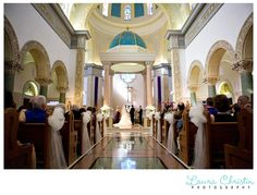wedding at the Immaculata at my law school / high school alma mater usd