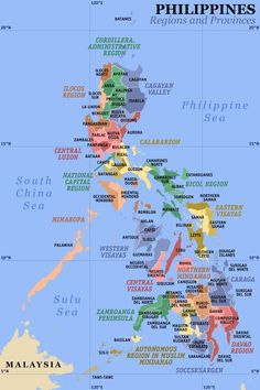 Jul 4, 1946 The Philippines became independent.  A clickable map of the Philippines exhibiting its 17 regions and 80 provinces.