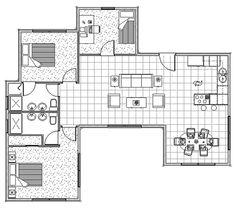 Casa de campo em madeira com 3 quartos