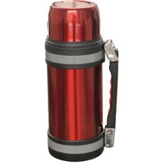 BRENTWOOD FTS-1000R Vacuum Stainless Steel Bottle with Handle (1.0 Liter)