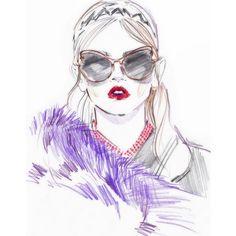 #miumiu #inspiration #sketch #fashionweek #paris #pfw #runway #miumiuss16 #style #fash...   Use Instagram online! Websta is the Best Instagram Web Viewer!