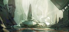 Concept architecture, Renaud Perochon on ArtStation at…