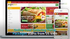 Online Food Ordering Multi vendor Marketplace website Builder/Software