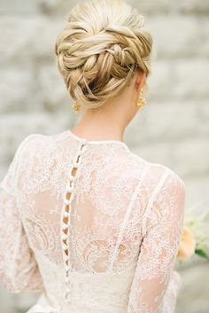 Wedding Updo | Photo by Kristyn Harder Photography