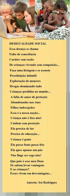 DESIGUALDADE SOCIAL... - Poesias - Casa dos Poetas e das Poesias