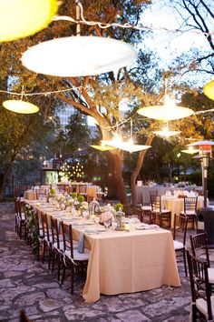 #al-fresco, #outdoor-dinner-party  Photography: Perez Photography - perezweddings.com Event Planning & Design: The French Connection - TheFrenchConnectionEvents.com Floral Design: Mandarin Flower of Austin - mandarinflower.com  Read More: http://www.stylemepretty.com/2013/01/03/san-antonio-texas-wedding-from-perez-photography/