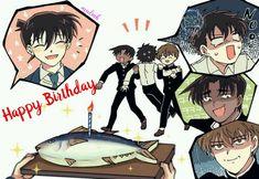 Heiji and subaru look very like do that😂😂😂 Conan Comics, Detektif Conan, Magic Kaito, Fan Anime, Anime Manga, Detective Conan Shinichi, Detective Conan Wallpapers, Kaito Kuroba, Kaito Kid