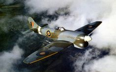 November A Royal Air Force Hawker Tempest V Series II (s/n on a test flight from the Hawker factory Langley, near Slough. This aircraft went into service with 222 Squadron RAF. Ww2 Aircraft, Aircraft Pictures, Fighter Aircraft, Military Aircraft, Fighter Jets, Aircraft Images, Ww2 Pictures, Aircraft Engine, Hawker Tempest