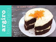 Carrot Cake - YouTube New Recipes, Cooking Recipes, Cake Youtube, Carrot Cake, Cake Cookies, Carrots, Cheesecake, Veggies, Pudding
