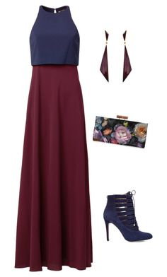 """""""Untitled #354"""" by netteskytte on Polyvore featuring Jill by Jill Stuart, Ted Baker, BCBGeneration and Chicnova Fashion"""