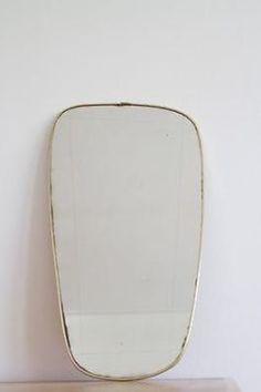 Jaren50 spiegel met gouden randje - Antiek  Spiegels - Marktplaats ...