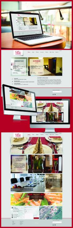 Website design - Csillag Pension
