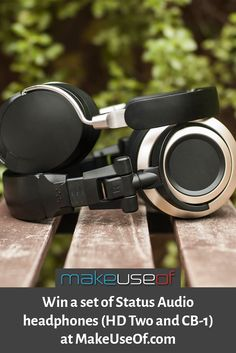 Enter to win these Status Audio headphones at MakeUseOf.com!
