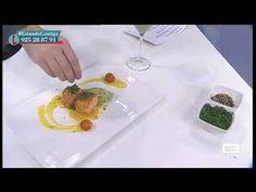 Tartar de salmon con puré de aguacate