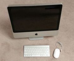 "Apple iMac 20.5"" Core 2 Duo 2.0 All-in-One Computer and Wireless Keyboard"