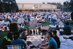 Tanglewood in Berkshire, Lenox, MA - spent many summers here