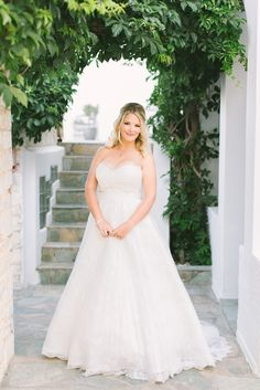 Stunning destination wedding in Greece: Photography : Genevieve Fundaro Photography Read More on SMP: http://www.stylemepretty.com/destination-weddings/2016/03/11/intimate-diy-destination-wedding-in-greece/