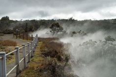 Hawaii | National Volcano Park - Crater Rim Trail is 11 miles roundtrip.  A section of the trail is closed due to extreme sulfur fumes.  Call ahead to determine whether the trail will be open.  [$10 entrance fee]