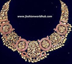 Antique Gold Peacock Necklace | Fashionworldhub